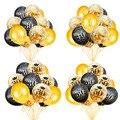 Шарики QIFU в виде цифр на день рождения, 30 40 50, украшения для дня рождения, для взрослых, 30, 40, 50, декор для дня рождения, латексные шарики
