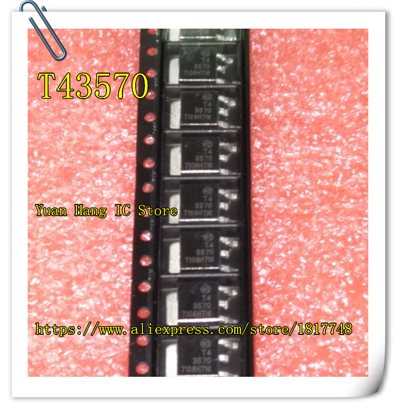 Free Shipping 20PCS/LOT T4 3570 T43570 TO-252  Silicon Controlled Rectifier