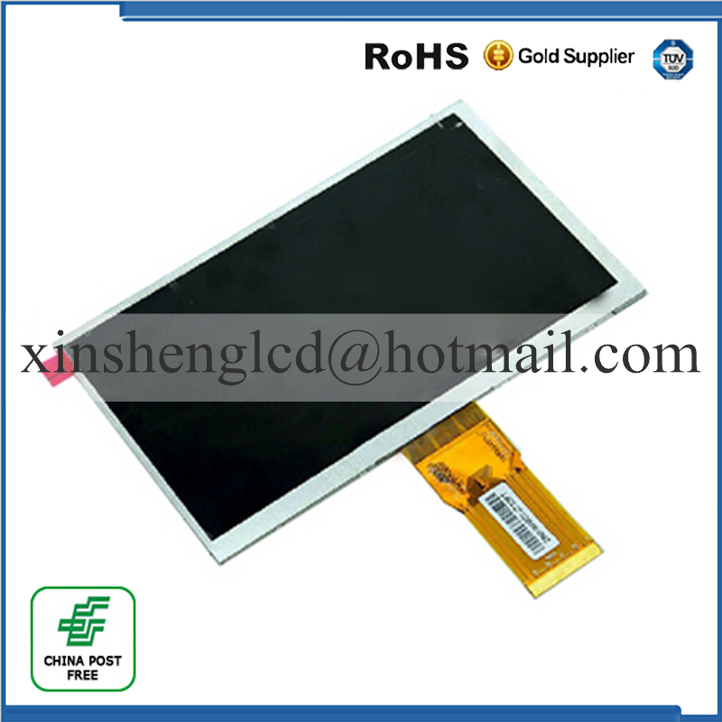 164* 97mm 50 pin New LCD display Matrix For 7 bq 7061g Tablet inner TFT LCD Screen Panel Lens Module Glass Replacement new lcd display matrix for 7 bq 7008g bq 7008g tablet inner lcd screen panel lens frame replacement free shipping