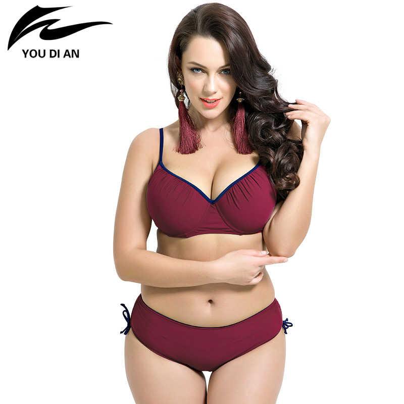 ca3614a3ea Bathing Suit women summer dress swimming suit Push up bikinis women plus  size Bikini set Women
