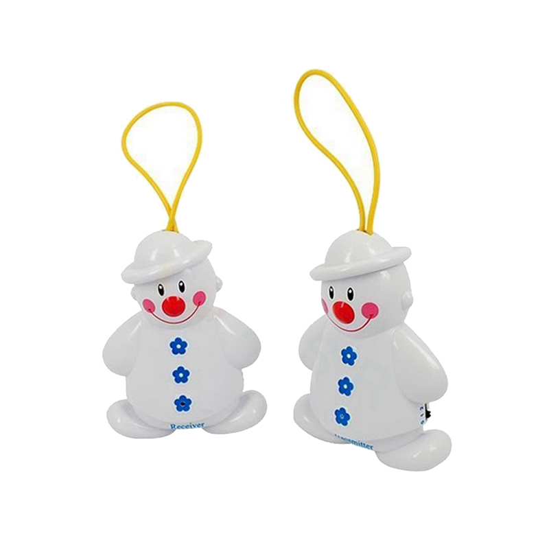 New Wireless Infant Baby Alarm Sleep Cry Detector Monitor Safe Call Baby Care Watcher Reminder Lovely Snowman Design FC safe device anti sleep drowsy alarm alert sleepy reminder for car driver to keep awake