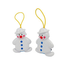 New Wireless Infant Baby Alarm Sleep Cry Detector Monitor Safe Call Baby Care Watcher Reminder Lovely Snowman Design FC(China)