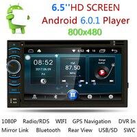 Универсальный 2 Din Автомобильный Радио Android автомобильный dvd плеер gps навигатор 2din стерео Авто Радио Кассетный рекордер поддержка камеры зад
