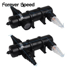 18w UV germicidal lamp UVC series Pool CUV-118 Filter water clarifier Sterilizer drop ship Forever Speed