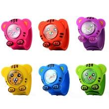 Relojes de moda para niños relojes de pulsera de cuero de cuarzo de moda relojes de dibujos animados para niños y niñas relojes deportivos