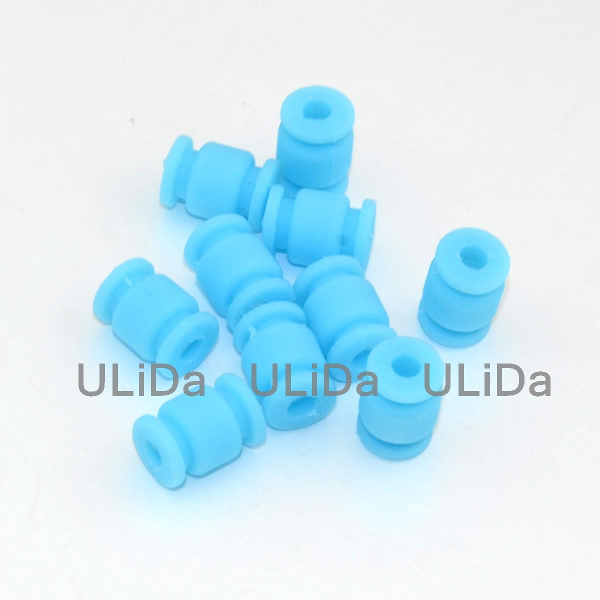 10 pcs Anti Vibration Damping Rubber Shock Absorber d4,D9,L13mm for Quadcopter fid closed damping ball group rod shock absorber cap for lt 5t 1 set