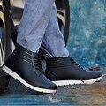 2016 Новый Досуг Водонепроницаемый нескользящей Босоножки Взрывы Мода Дождя Сапоги для Мужчин Мужской Черный Цвет с Низким трубки Резиновые Сапоги Обувь
