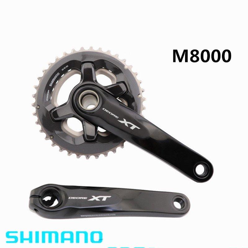 Pédalier de vélo Shimano DEORE XT M8000 2x11 vitesses vtt VTT