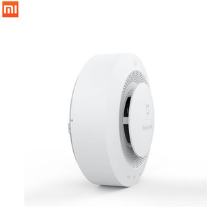 Image 3 - ホット今 Xiaomi Mijia ハネウェル火災警報検出器音と視覚アラームゲートウェイ煙検出器スマートホームリモートで動作