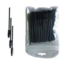 100pcs/lot Eyelash Brush Semi Permanent Make-up Beauty Disposable Comb Mascara Wands Eye Lashes Extension Tools