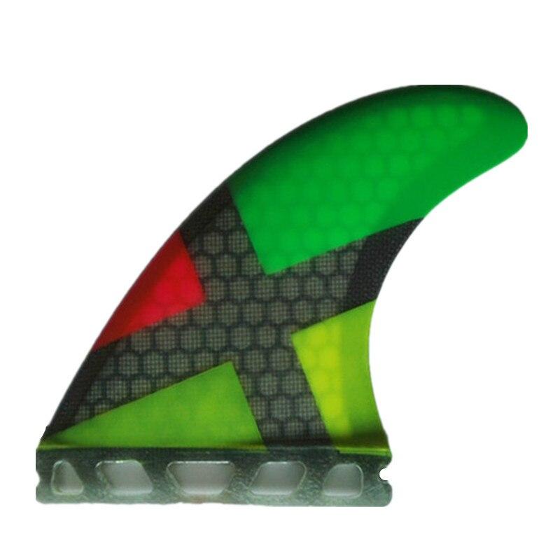 Vente Chaude En Fiber de Carbone Quilles de Surf Honeycomb Planche Planches de Surf Ailettes Propulseur Sup Surf Fin Ailettes G5