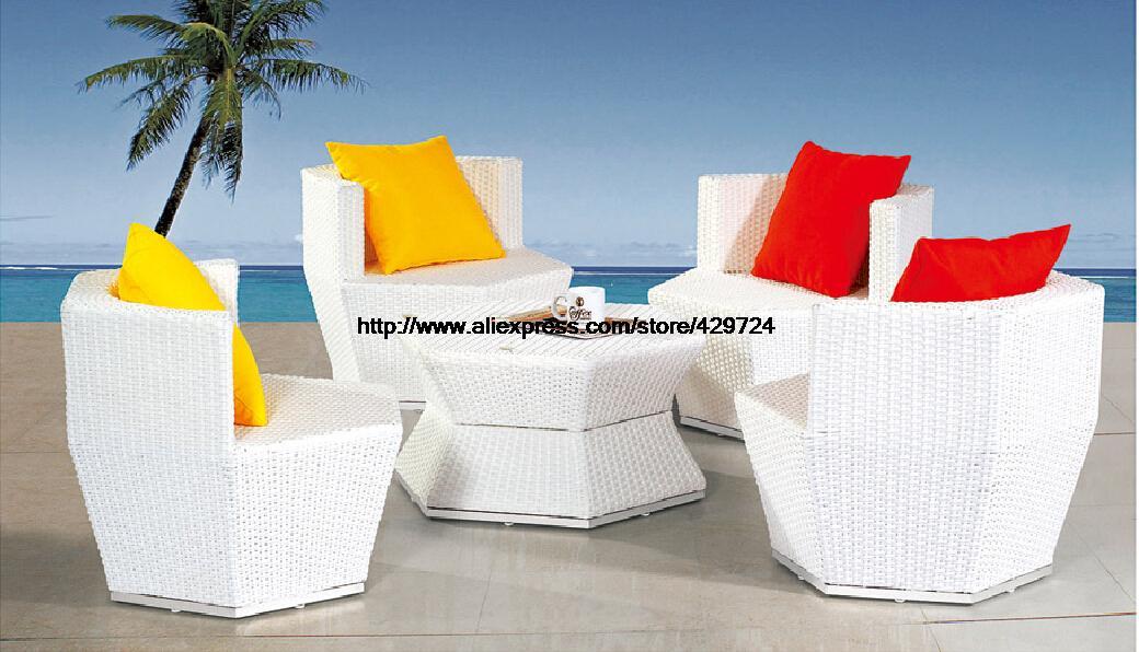 Creative Rattan Combination Furniture Bottle Shaped Garden Sofa Set Outdoor Furniture Wicker Patio Sofa Furntiure Set HFA113