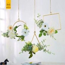 RUX WORKSHOP Garden Decoration Wedding Flowers Artificial Roses Hanging Home Accessories