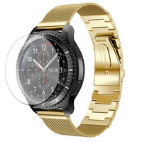 Milanese Stainless Steel Bracelet Smart Band Strap HD Film For Samsung Gear S3 NOV24