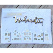 YaMinSanNiO Germany letter alphabet metal cutting dies for Scrapbooking die cut stitch craft troqueles stencil new 2019