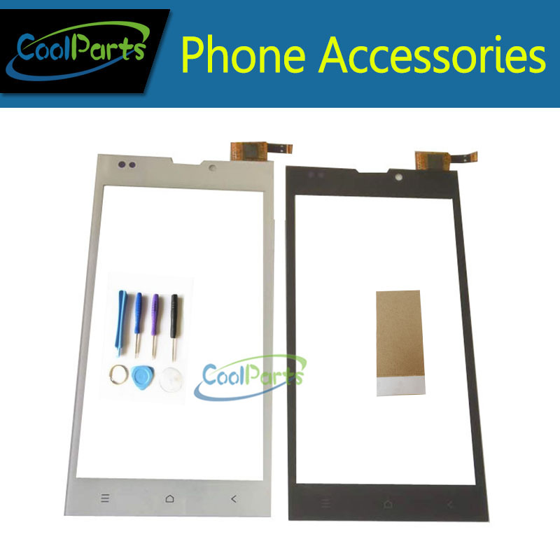 1PC/Lot High Quality 5.0Inch For Dexp Ixion EL150 EL 150 Touch Screen Digitizer Panel Glass With Tool&Tape Black White Color