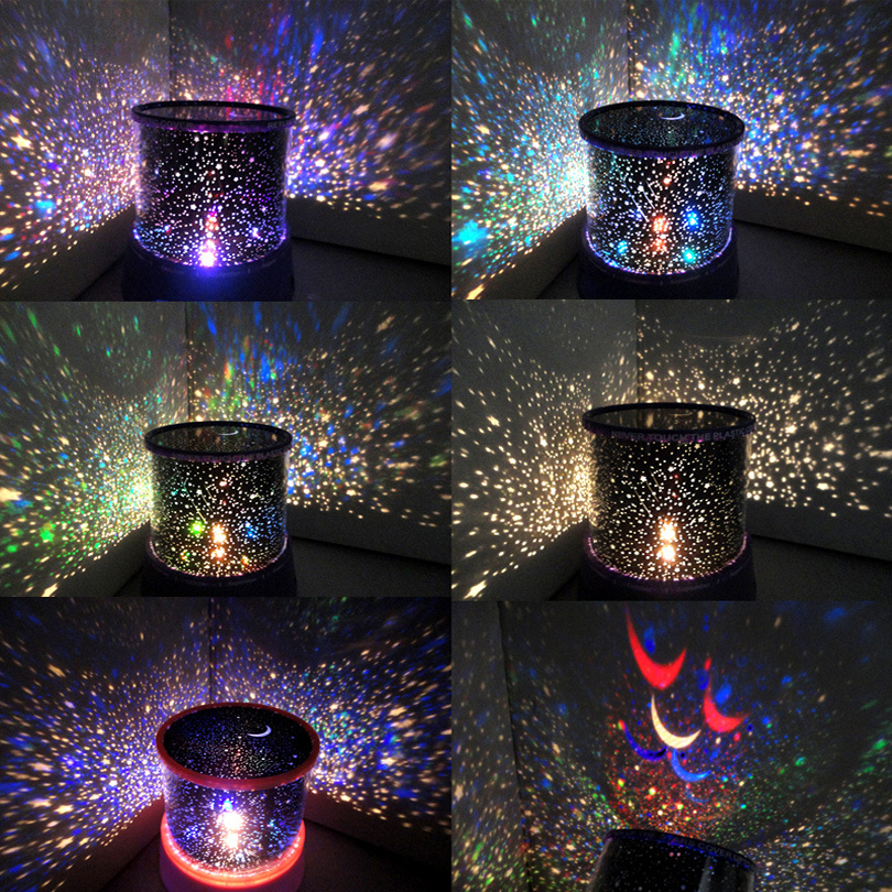 Night Light Star Master LED Lamp Musical Projector Lamp Manual Rotating 3D LED Fairy Twinkle Sky Light Master Universe Baby Gift