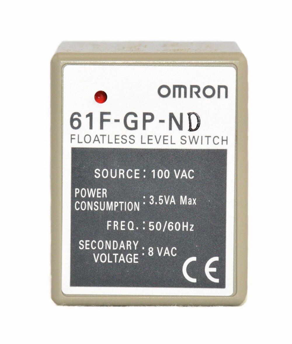 61F-GP-ND AC 3.5A 50/60Hz relais OMRON composant électronique relais à semi-conducteurs contrôleur de niveau d'eau pour commutateur de niveau de liquide