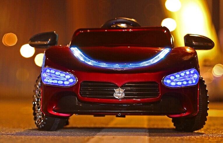En solde!!! Hot-vente Maserati Enfants Voiture Électrique Tour Sur avec Télécommande et Phare Bleu - 3