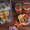 Stainless Steel 12 Layer Fruit Dryer Machine Commercial Fruit Vegetable Tea Food Dehydrator Small Drying Oven Air Dryer