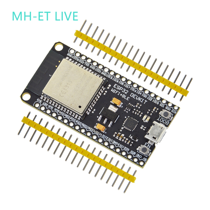 Placa de Desenvolvimento ESP32 MH-ET AO VIVO WiFi + Bluetooth Ultra-Baixo Consumo De Energia Dual Core ESP-32 ESP-32S ESP 32 Semelhante ESP8266