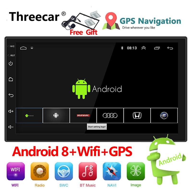 Auto-radio 2 Din Android 8 navigation gps autoradio De Voiture Stéréo 7