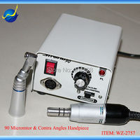 35000rpm SDE M33Es E Type Motor & Contra Angle Head + Mini Strong 90 Micromotor Power Engine