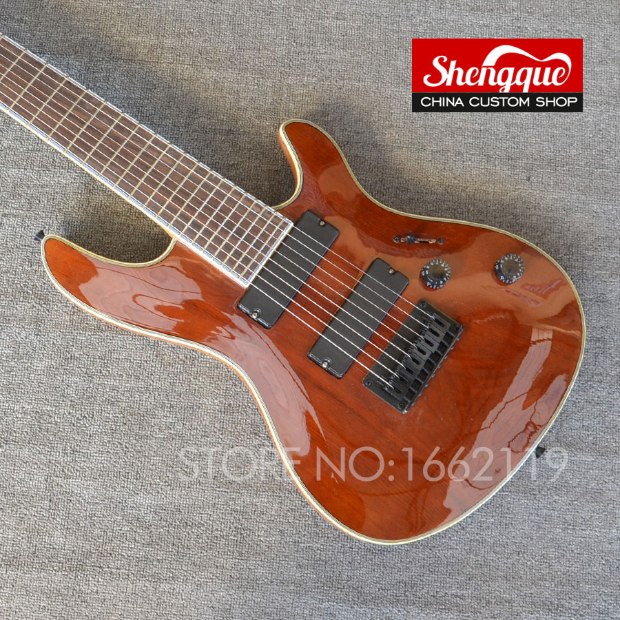 china custom shop mayones 8 strings electric guitar neck through body guitarra musical. Black Bedroom Furniture Sets. Home Design Ideas