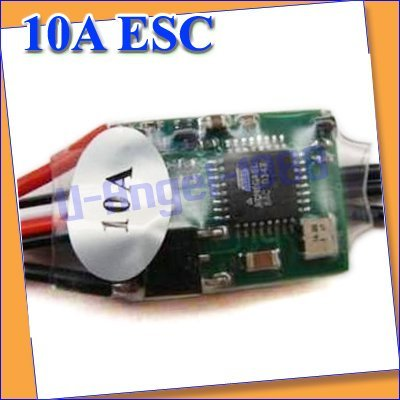 New Parts 10A ESC Brushless Motor Speed Controller RC