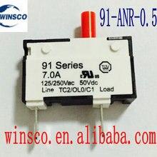 10 шт./лот 91-ANR-0.5A KUOYUH 0.5A автомат защити цепи 91 серии 0.5A