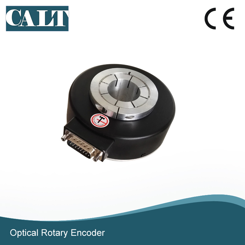 CALT GHH80 series 20mm hollow shaft encoder line driver output industrial motor speed encoder calt high resolution 3600 pulse incremental encoder ghs38 series optical rotary encoder line driver output