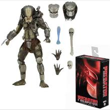 high quality NECA PREDATOR Scale Ultimate P1 Jungle Hunter Jungle Demon PVC Action Figure Collectible Model Toy стоимость