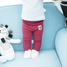 Baby Pants Cotton Baby Girls Leggings Autumn Spring Baby Boys Pants Kids Trousers Newborn Baby Legggings Pant cheap Full Length Elastic Waist EIJINER Herringbone 95 cotton High Polyester Cotton skinny Fits true to size take your normal size