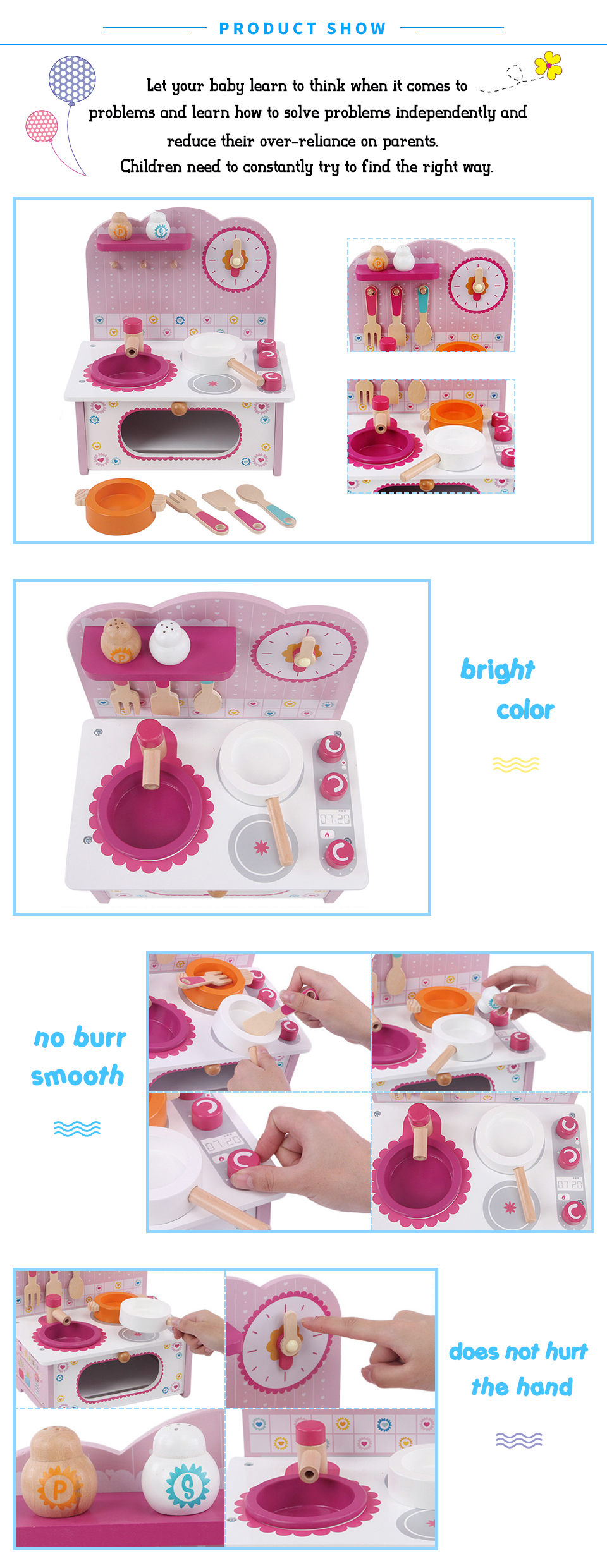 Toys R Us Küchenspielzeug Baby Toys Kid Cooking Set Wooden Kitchen Toy For Children Wooden Play Kitchen Set Pink Stove Gift