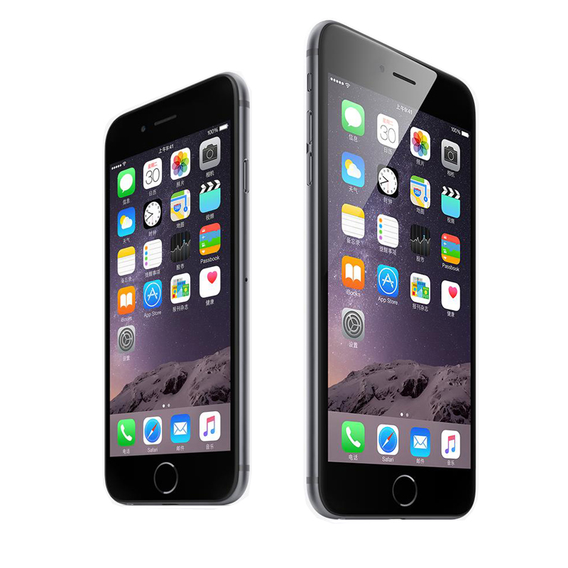 Original Unlocked iphone 6/6plus Dual Core 4.7/5.5inch 16GB/64GB/128GB Apple A8 CPU