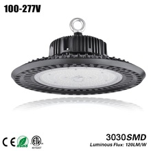 DLC 100W 150W 200W led UFO Industrial Lighting 5000K IP65 3030SMD bouwlamp Garage Light Workshop Light led high bay ufo