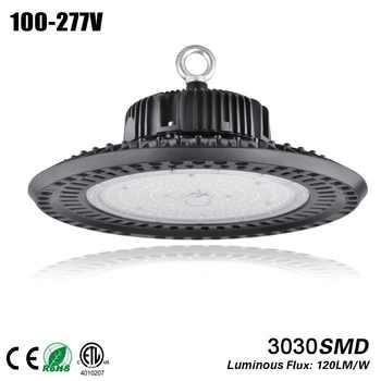 DLC 100W 150W 200W led UFO Industrial Lighting 5000K IP65 3030SMD bouwlamp Garage Light Workshop Light led high bay ufo - DISCOUNT ITEM  20 OFF Lights & Lighting