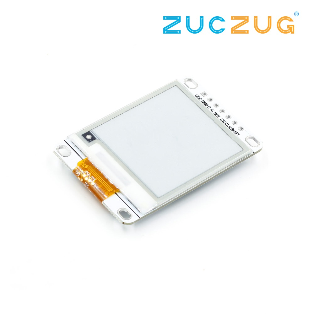 1.54 Inch E-Paper Module E-Ink Display Screen Module Black White Color SPI Support Global/Part refresh Diy For Arduino