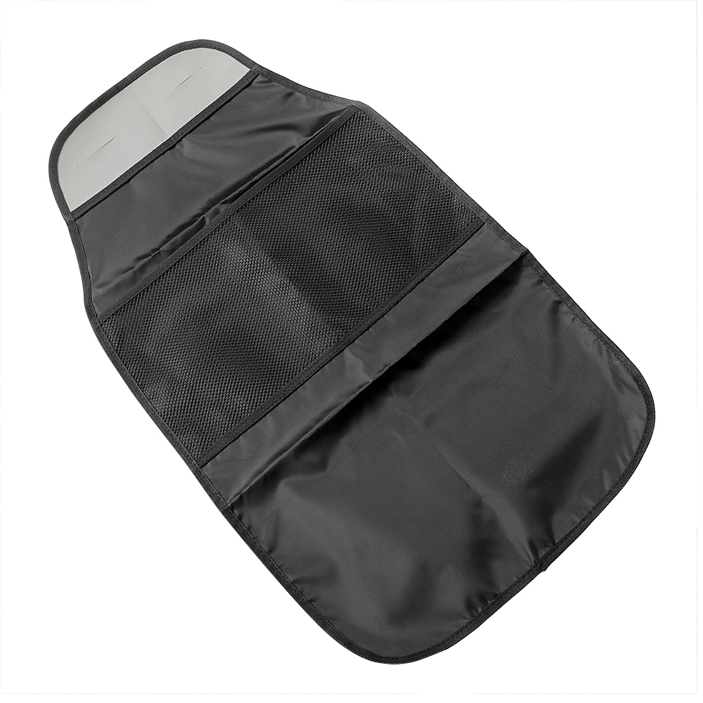Bag Holder Car Seat Back Protector Baby Child Kick Storage Food Drink Bottles Anti Dirty Mat Automobiles Seat Covers