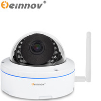 EINNOV Waterproof 960P IR Night Vision Motion Dection Onvif IP CCTV Dome Security Audio Camera Wireless