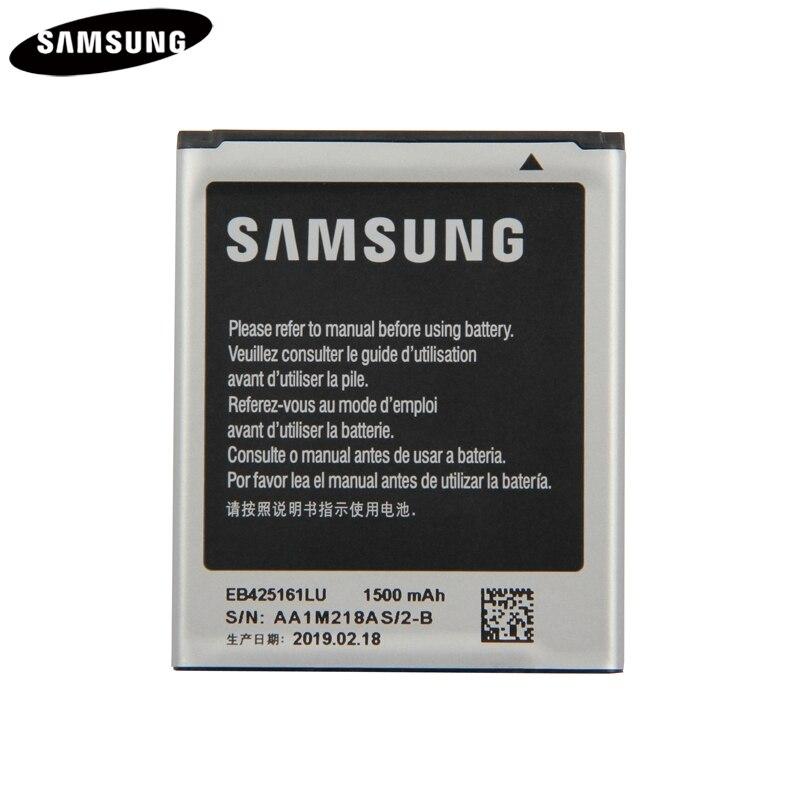 100% Batterie d'origine EB425161LU Pour Samsung SM-J105H J1MINI S7562 S7572 S7580 I739 i759 I669 I8160 J1 MINI GALAXY Ace 2 1500 mAh