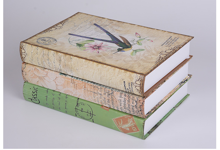 Diy Rural Home Decor Fake Book Shoot Props Simulation Books For Rhaliexpress: Home Decor Fake Books At Home Improvement Advice