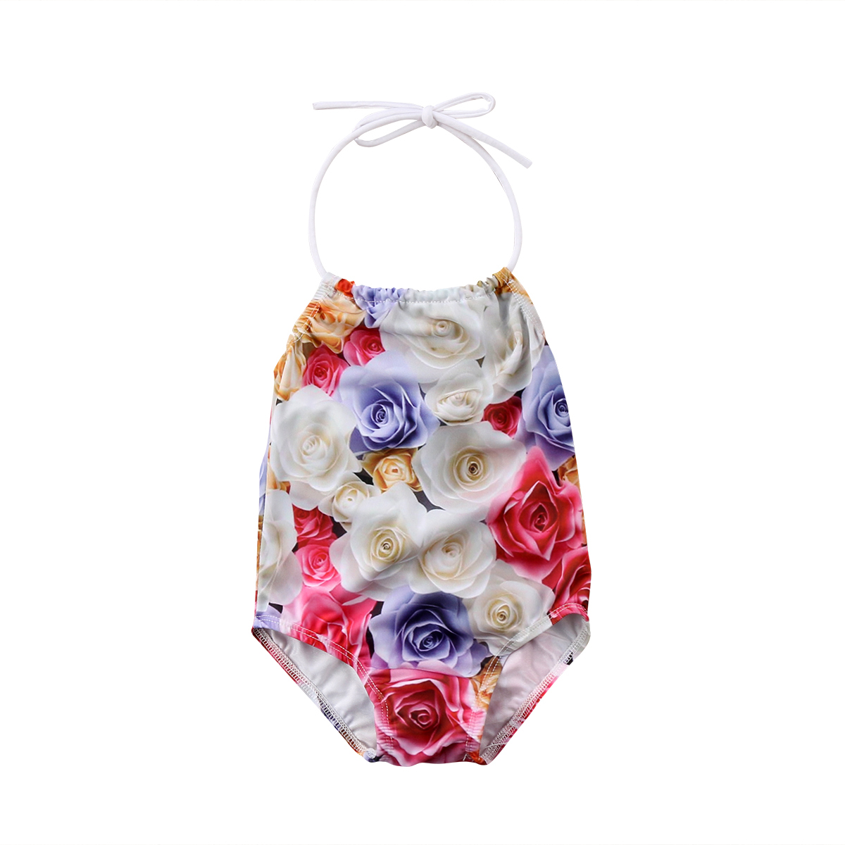 Kid Baby Girls Clothes Floral Romper One Pieces Swimsuit For Girls Children Swimwear Summer Girls beachwear bathing suit