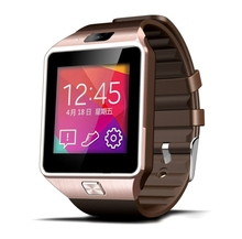2016 nuevo smart watch smartwatch bluetooth para android ios teléfono soporte TF Tarjeta SIM SMS GPRS NFC FM PK DZ09 GT08 U8