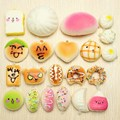 20Pcs Random Portable Phone Straps Exquisite Mini Soft Donut/Bread/Cake/Bun Charm Strap Soft Bread Donuts Toys For Huawei