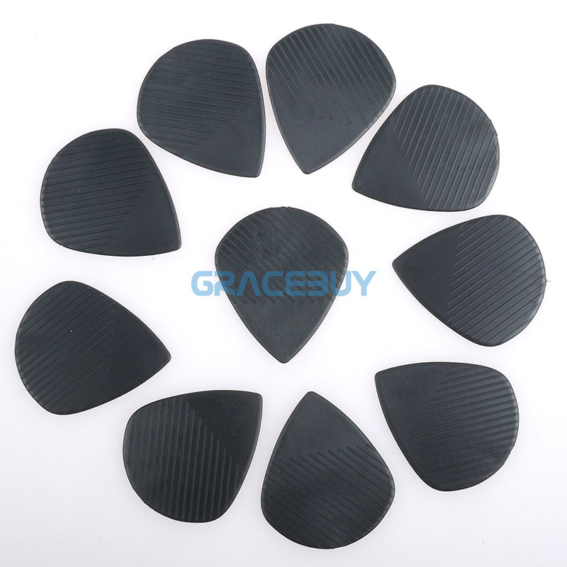 0.71MM Joyo Non-slip Guitar Picks For Electric Acoustic Guitar Bass Folk Plastic Steel Material Anti Wear Durability Plectrum