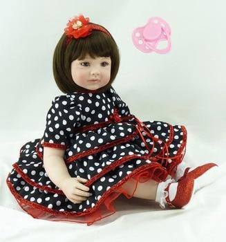Soft Silicone Reborn Baby Doll Vinyl Princess Doll