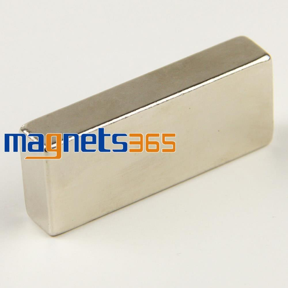 OMO Magnetics 1PC Big Bulk Super Strong Strip Block Magnets Rare Earth Neodymium 50 x 20 x 10 mm N35 Free Shipping