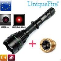 Unique Jagd Taschenlampe 3 Modi UF-1508 XRE Rot Licht Led Drop in Pille + IR 850nm Birne Perfekte Für Nacht