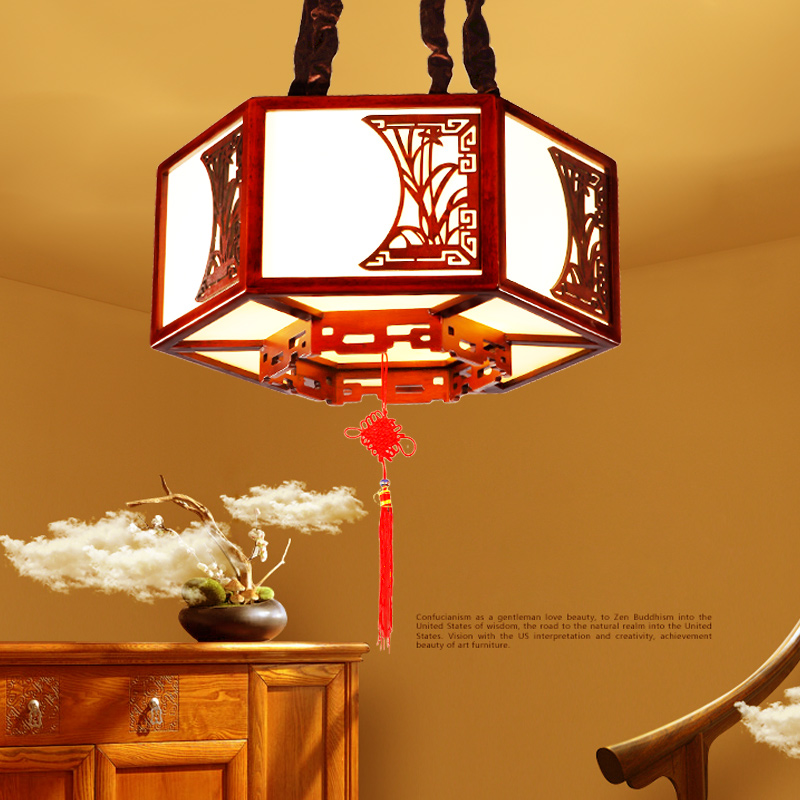 Chinese style wooden pendant lamps retro solid wood art led creative living room oak wood restaurant pendant lights ZA ZL529 chinese style iron lantern pendant lamps living room lamp tea room art dining lamp lanterns pendant lights za6284 zl36 ym